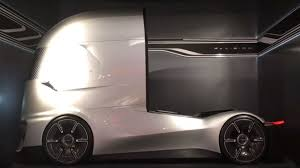 100 Ford Electric Truck FVision Future Concept Autonomous And Electric