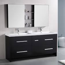 Design Element 63-in Designer's Pick Perfecta Double Sink Bathroom ... Design Element Milan 24 Bathroom Vanity Espresso Free Shipping 78 Ldon Double Sink White Dec088 36 Single Set In Galatian 88 With Porcelain Stanton 72 W Vessel Inch Drawers On The Open Bottom Dec074sw Citrus 48inch Solid Wood W X 22 D 61 Gray Marble Hudson 34 H