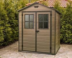6x5 Shed Double Door by Keter Scala 6x8 Shed 1 8mx2 2m 1 229 00 Landera Outdoor