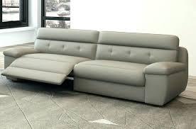 canape relax cuir blanc canape gris cuir canape relax cuir blanc canapac 3 places