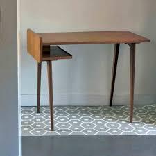 le bureau vintage en metal bureau bois vintage industriel top with en bureau bois