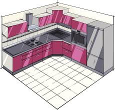 L Shaped Kitchen Floor Plans With Dimensions by Excellent L Shaped Kitchen Floor Plans Double Fat Island L Shaped