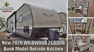100 Used Airstream For Sale Colorado New 2020 FOREST RIVER WILDWOOD 26DBUD Bunk Model Queen Bed RV Camper Trailer S