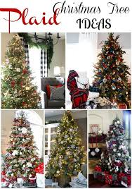 Plaid Christmas Tree Ideas