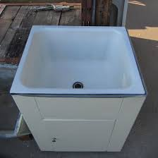 Stainless Steel Utility Sink With Drainboard by Interior Stainless Steel Utility Sink With Cabinet Double Ended