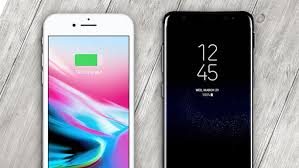 iPhone 8 vs Samsung Galaxy S8 Apple and Samsung Face f