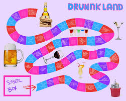 Drinking Board Game Drunkland