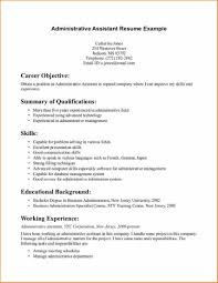 11 Career Objective Examples For Administrative Assistant Resume Executive