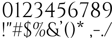 cinzel regular font