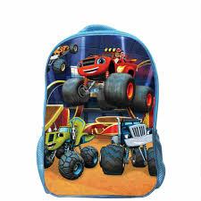 100 Monster Truck Backpack Blaze And AJ Dinosaur Women Men Children Anime Animal
