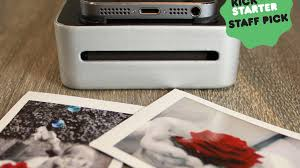 SnapJet Turn your smartphone into a polaroid film printer by