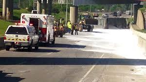 100 Fertilizer Truck Accident Involving Fertilizer Truck Shuts Down Portion Of IDL In