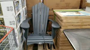 Costco! Adirondack Chairs! $129!!! Design Costco Beach Chairs For Inspiring Fabric Sheet Chair Round Folding Gray Set Gumtree Small Ding Fniture White Maxchief Upholstered Padded 4pack Cheap Table Find Cosco Waffle Resin Mesh 1pack Fold Up Table Viator Las Vegas Tours Flooring Awesome Target Blue Club Ultralight Packable Highback Camp Lifetime With Handle