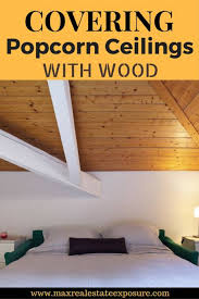 Skip Trowel Over Popcorn Ceiling by How To Remove A Popcorn Ceiling
