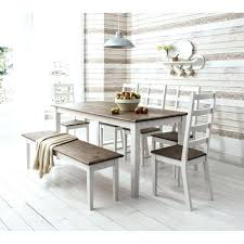Dining Table Bench With Back Kitchen Style
