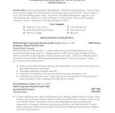 Social Work Resume Example Download Sample Workers