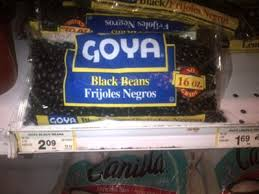 This Is A Side By Comparison Of Two Containers Beans From Our Local Grocery Store They Are Both GoyaR Brand To Isolate As Many Variables