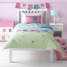 Girls Themed Bedding Set Depicting A Village Green Scene John Lewis