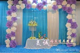 100 High Quality We Have White Blue Pink Hot Purple Color To Choose Great For Wedding Party Decor Free Shipping Worldwide
