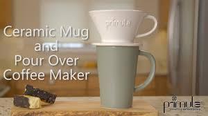 Primula Ceramic Mug And Pour Over Coffee Maker