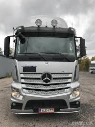100 Benz Truck 2013 Mercedes Actros 2551L 6X2 Kontti 0laite Container Frame
