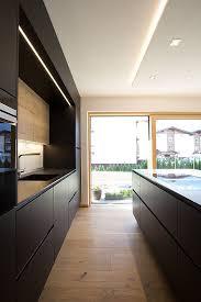 schwarze küche küchenstudio tischlerei laserer in