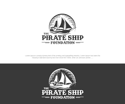 100 Design A Pirate Ship Colorful Bold Logo For The Foundation