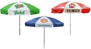 Custom Umbrellas Vinyl Aluminum Patio