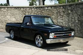 1968 Chevy C10 Truck Short Bed (pro Touring Show Truck Restomod No ...