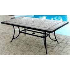 agio 40 x 72 outdoor patio porcelain table willowbrook rc