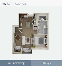 100 Small One Bedroom Apartments 5 House Plans 3d Lovely 1 Apartment Floor