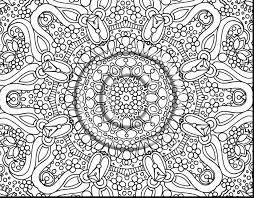 Fantastic Hard Flower Coloring Pages For Adults With Free Abstract And Mandala
