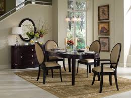 dining room cool white kitchen table and chairs black round