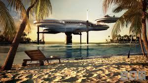 100 Water Discus Hotel Dubai Spaceage Underwater Hotel To Be Built CNN Travel