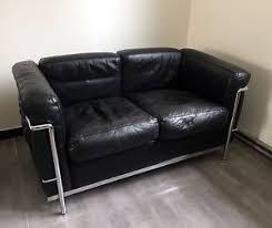le corbusier canape authentique sofa fauteuil lc3 canapé cassina lc2 jeanneret le
