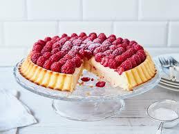 himbeer pudding kuchen cremig lecker