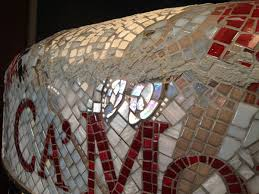 Thinset For Glass Mosaic Tile by Sculptural Mosaic How To Mosaic