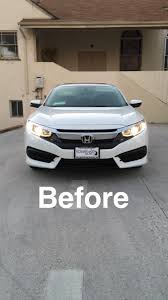 opt7 led headlights installed 10th civic forum