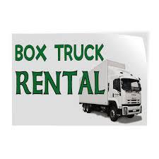 100 Truck Renta Amazoncom Box L Indoor Store Sign Vinyl Decal
