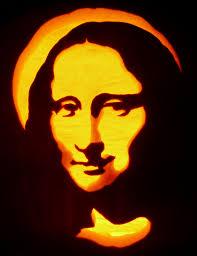 Pumpkin Carving Stencils 2015 by Carved Pumpkin Mona Lisa Pattern By Pumpkinglow Com Pumpkin