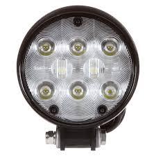 100 Work Lights For Trucks TruckLite 8150 SignalStat Auxiliary Stud Mount 4 Round