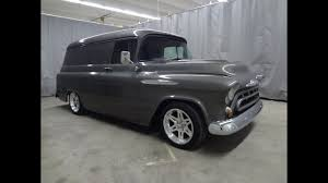 RARE!! 1957 Chevrolet 1/2 Ton Panel Truck 502 V8 Hot Rod For Sale ... Check Out This 1950s Chevy Napco Retromod Cversion 1957 Truck Stock Photos Images Alamy Gmc Panel Hot Rod Network Chevrolet Task Force Wikipedia Coe The Panel Truck On The Back Is Fantastic 3800 1 Ton Stake Kromrey Kustoms Performance Quiksilver Genho Zl1 Restomod West Coast Customs Hemmings Find Of Day 100 Daily Vintage Pickup Searcy Ar 4x4 Rust Free Very Cool Project Gmc Rat Rod 12 Ton Van Restored And Rare For Sale Youtube