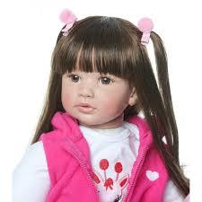 18inch Reborn Baby Dolls Newborn Realistic Soft Silicone Girl Toy At