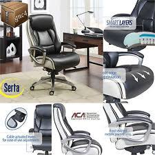 Serta Big And Tall Executive Office Chairs by Serta Smart Layers Executive Tranquility Office Chair 44942 Ebay