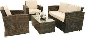 Shawna Two Seater Rattan Sofa Set