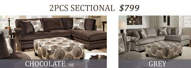 2 Piece Sectional Sale At Unique Home Furniture Store