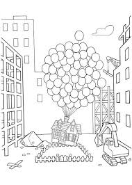 Up the movie coloring pages Lizbet Pinterest