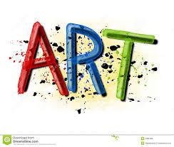 Grunge Paint Splatter Art Logo