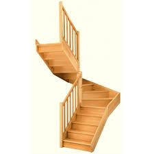 escalier 2 quart tournant leroy merlin escalier soft quart tournant intermédiaire gauche h274