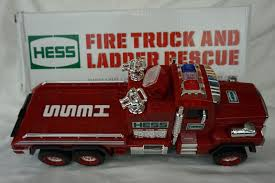 100 Fire Truck Sirens Hess And Ladder Rescue 2015 Collectible ToyBlazing